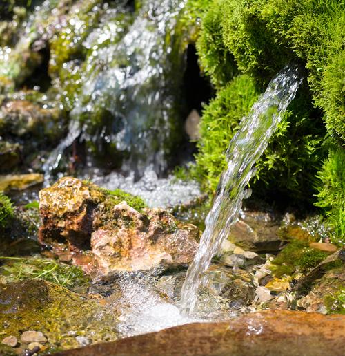 BRU® : l'eau 100% locale.
