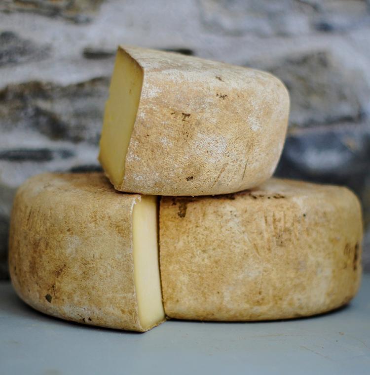 fromage d'un producteur local dans les Ardennes