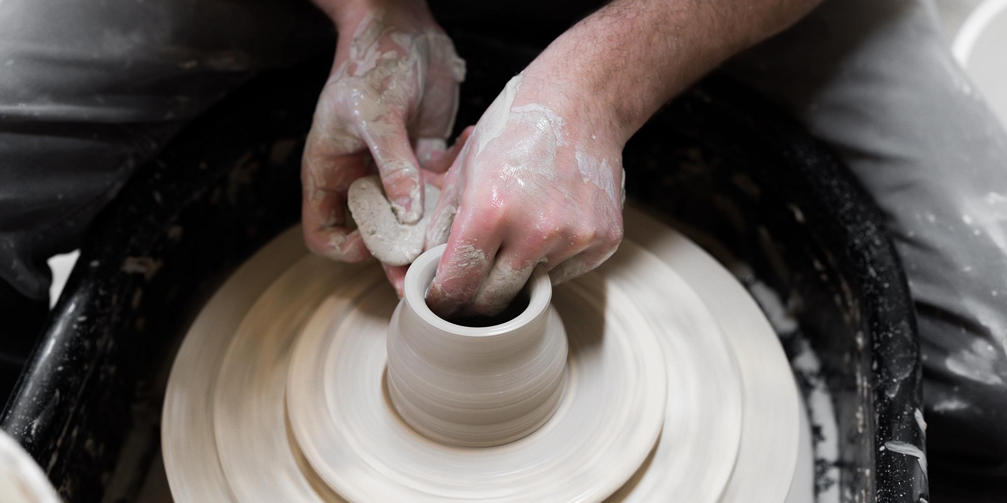 service en céramique locale