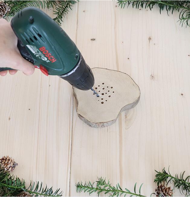 Kerststolp stap 1
